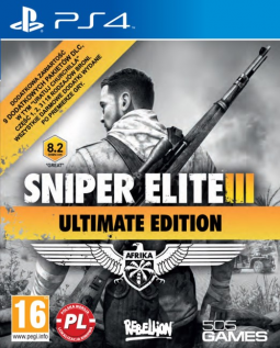 Sniper Elite III: Ultimate Edition PL (PS4)