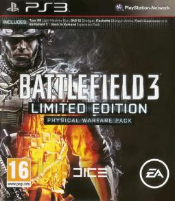 Battlefield 3 Limited Edition Physical Warfare Pack (PS3)