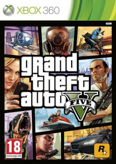 GTA 5 - Grand Theft Auto V PL (X360)