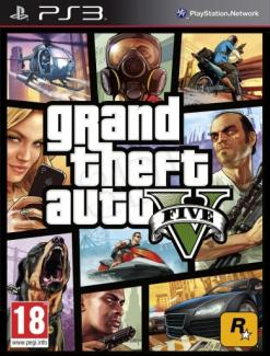 GTA 5 - Grand Theft Auto V PL/ENG (PS3)
