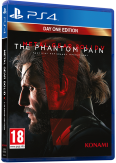 Metal gear solid V The Phantom Pain DAY1 (PS4)