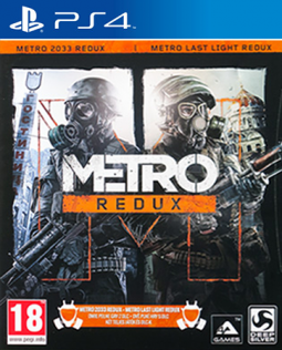 METRO Redux 2033 + Last Light PL (PS4)