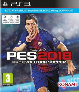 PES Pro Evolution Soccer 2018 Edycja Premium (PS3)