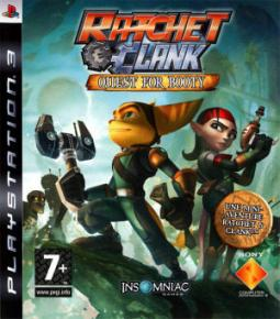 Ratchet & Clank: Quest for Booty ENG (PS3)