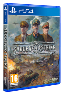 Sudden Strike 4 DAY1 PL (PS4)
