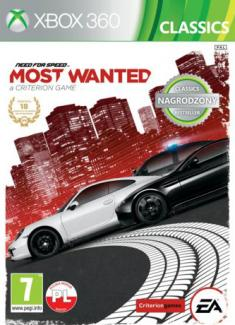 Need for Speed: Most Wanted - Classics PL (X360)