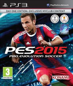 PES Pro Evolution Soccer 2015 ENG/PL (PS3)