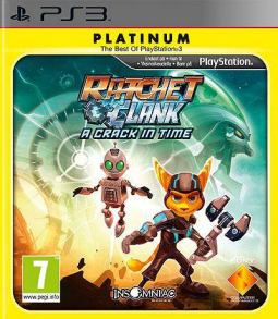 Ratchet & Clank: A Crack in Time Platinum  (PS3)