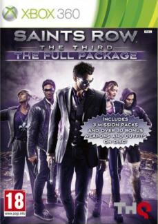 Saints Row: The Third The Full Package - Classics PL/ENG (X360)