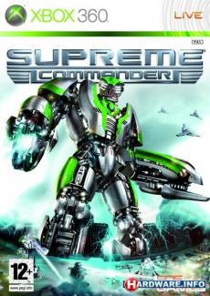 Supreme Commander ENG (X360)