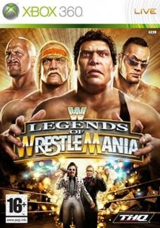 WWE Legends of WrestleMania  (X360)