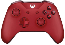Kontroler Pad Xbox One S Red (WL3-00028)