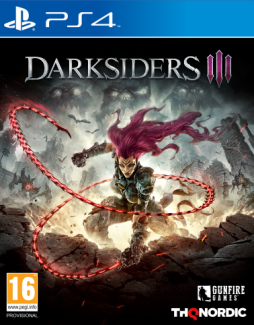 Darksiders III PL (PS4)