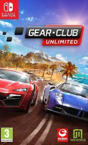 Gear Club Unlimited ENG (SWITCH)