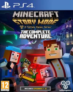 Minecraft: Story Mode The Complete Adventure ENG (PS4)
