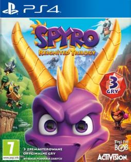 Spyro Reignited Trilogy PL (PS4)