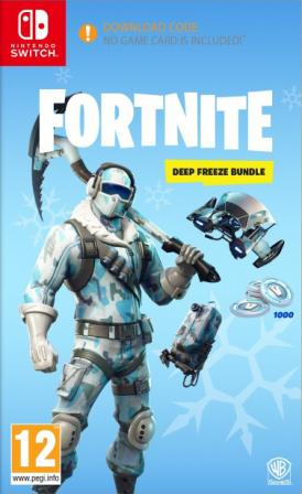 Fortnite Deep Freeze Bundle PL (SWITCH)