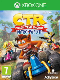 CTR Crash Team Racing Nitro Fueled (XONE)