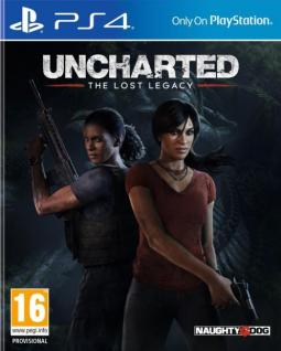 Uncharted : The lost legacy PL/ENG (PS4)