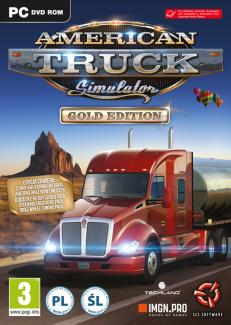 American Truck Simulator GOLD Edition PL (PC)