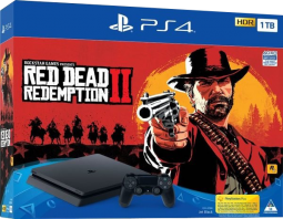 Konsola PS4 1TB Slim + Gra Red Dead Redemption 2