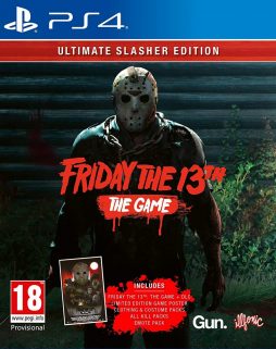 Friday 13th The Game Ultimate Edition  (PS4)