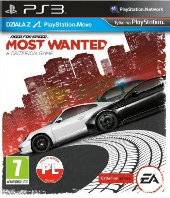 Need for Speed Most Wanted PL (PS3)