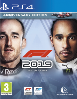 F1 2019 – Anniversary Edition PL (PS4)