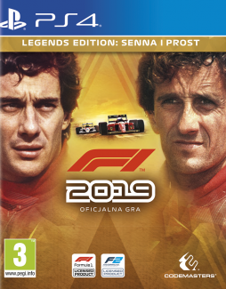 F1 2019 – Legends Edition PL (PS4)