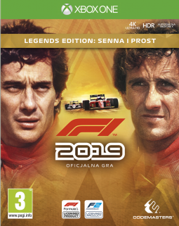 F1 2019 – Legends Edition PL (XONE)