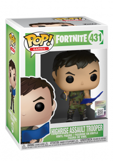 Figurka Funko POP! Fortnite S1:  HighRise Assault Trooper