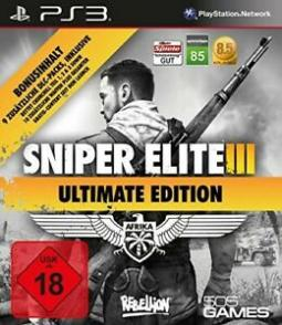 Sniper Elite III: Ultimate Edition GER (PS3)