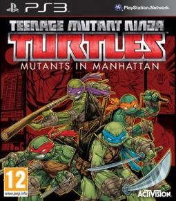 Teenage Mutant Ninja Turtles: Mutants in Manhattan ENG (PS3)