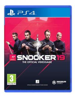 Snooker 19 - The Official Video Game  (PS4)