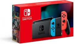 Konsola Nintendo Switch console with Neon Red & Blue Joy-Con - Nowy Model