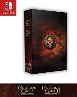 Baldur's Gate Enhanced Edition Edycja Kolekcjonerska PL (SWITCH)