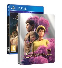 Shenmue III Day One Edition + STEELBOOK (PS4)