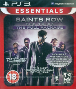 Saints Row 3 The Full Package (PS3)