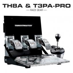 Thrustmaster Zestaw Skrzynia TH8A + Pedaly T3PA Pro PC Xbox PS3 PS4