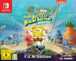 SpongeBob SquarePants: Battle for Bikini Bottom – Rehydrated PL F.U.N. Edition (SWITCH)