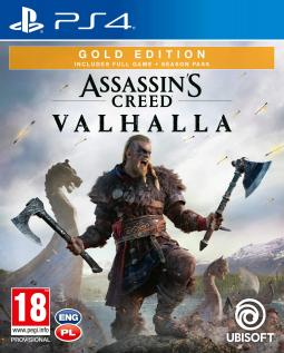 Assassin's Creed Valhalla GOLD Edition PL (PS4)