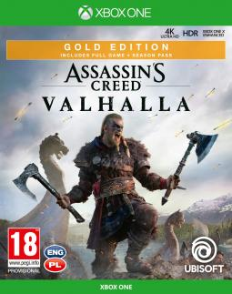 Assassin's Creed Valhalla GOLD Edition PL (XONE)