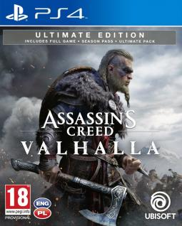 Assassin's Creed Valhalla Ultimate Edition PL (PS4)