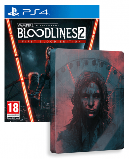 Vampire The Masquerade Bloodlines 2 - Unsanctioned Edition (PS4)