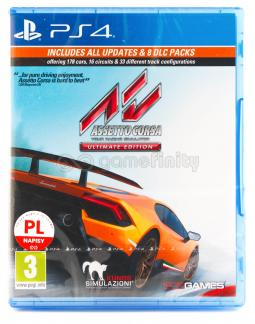 Assetto Corsa Ultimate Edition PL (PS4)