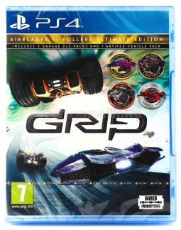 GRIP Combat Racing: Rollers vs Airblades Ultimate Edition (PS4)