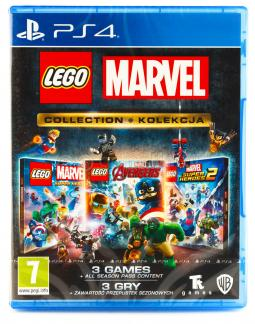LEGO Marvel Collection PL (PS4)