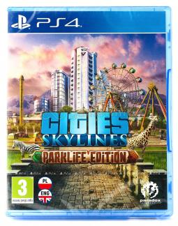 Cities Skylines Parklife Edition PL (PS4)