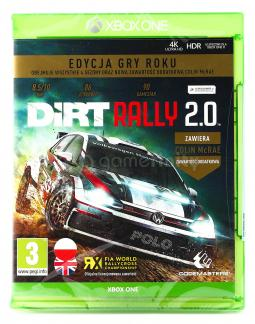 DiRT Rally 2.0 Game of the Year Edition PL (XONE)
