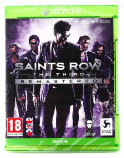 Saints Row 3 The Third - Remastered PL (XONE)